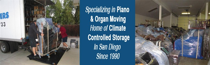 San Diego Piano Movers